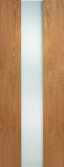 Zaragoza Oak Glazed Door