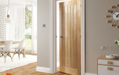 Internal Doors, Solid Wood Interior Single Leaf Doors