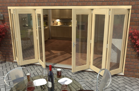 4200mm ( 14ft ) 3 + 3 Tradesman Bifold Doors