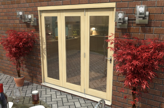 2400mm ( 8ft ) Tradesmen Bifold Doors