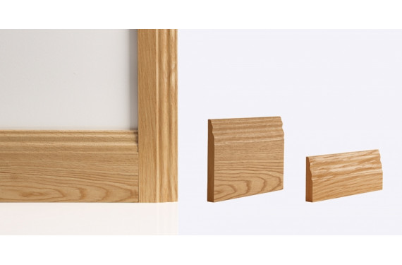 Traditional Architrave 80mm X 16mm (set Covers Both Sides Of The Door)