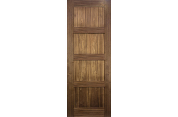 Coventry Walnut Door - Prefinished
