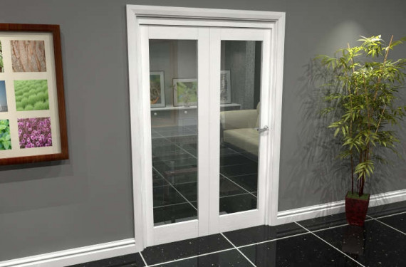 White P10 Roomfold Grande (2 + 0 X 610mm Doors)