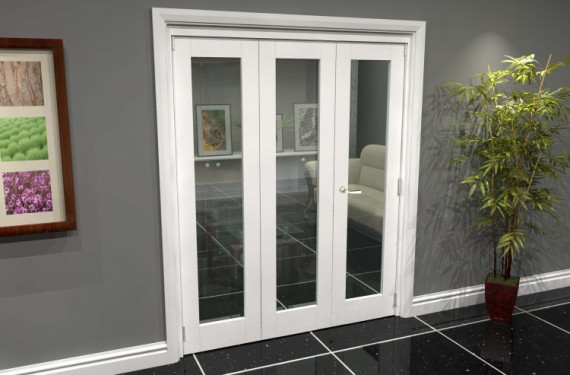 White P10 Roomfold Grande (2 + 1 X 533mm Doors)