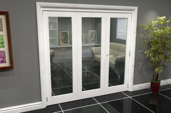 White P10 Roomfold Grande (2 + 1 X 686mm Doors)