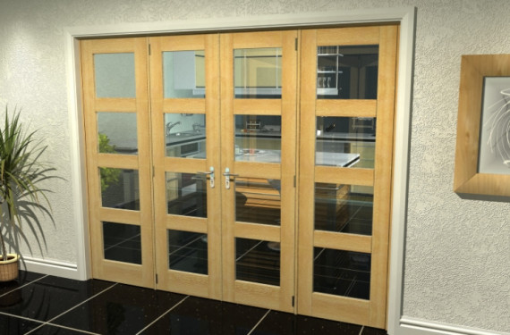 Oak 4l French Door Set  - 21
