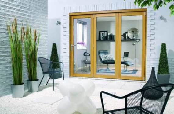 LPD Nuvu 2100mm (7ft) Oak Bifold Doors
