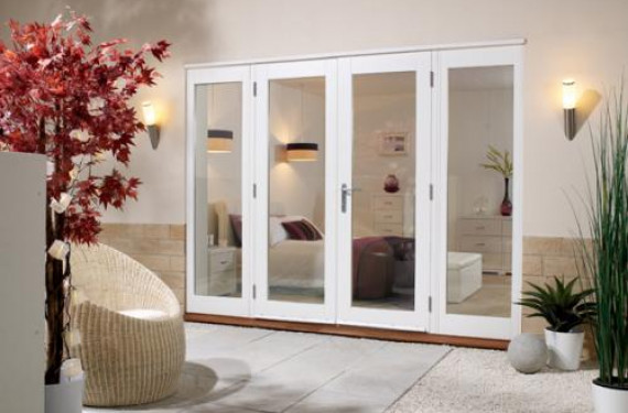 LPD Nuvu 2400mm (8ft) - 1500mm Patio Doors + 2 X 450mm Sidelights