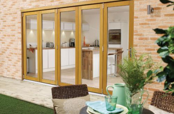 LPD Nuvu 3600mm (12ft) Oak Bifold Doors
