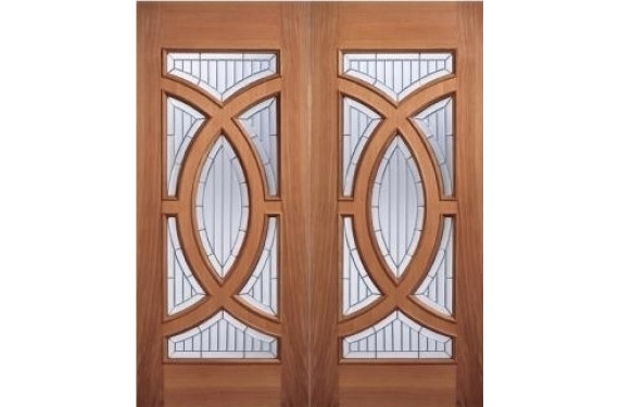 Majestic Hardwood Grand Entrance Doors