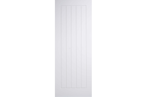 Mexicano Solid White Primed Doors