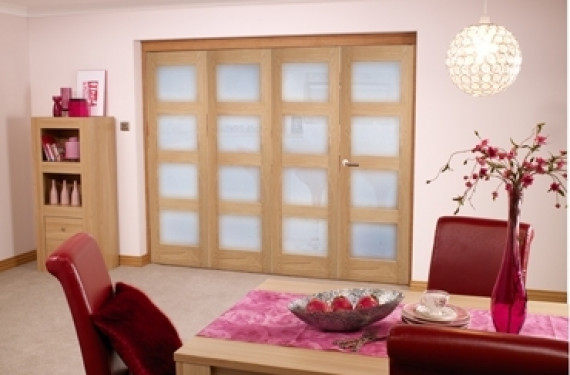 Oak Prefinished 4l Interior Bifold Door (4 X 1'9