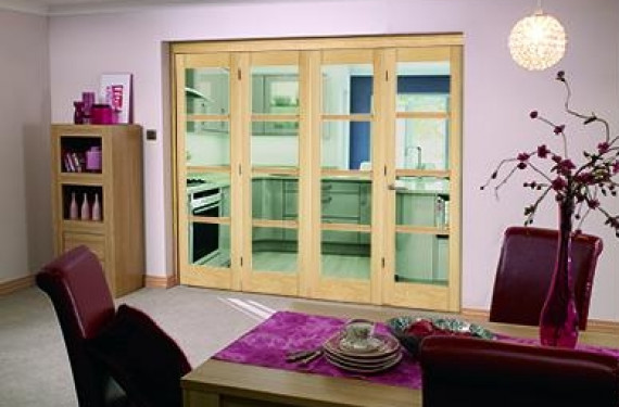 Oslo 4 Door Roomfold Deluxe (4 X 610mm Doors)