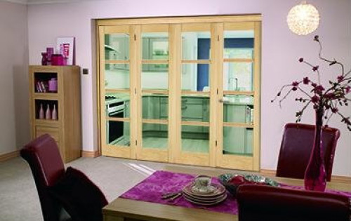 Oslo Prefinished Oak Bifold Door Range