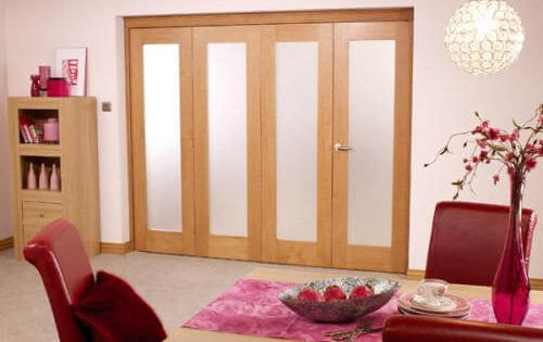 Porto Prefinished Oak Bifold Door Range