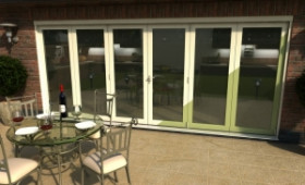 Climadoor Select 4200mm (14ft) Folding Door Image