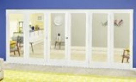 White P10 Roomfold Deluxe ( 3 + 3 X 762mm Doors ) Image