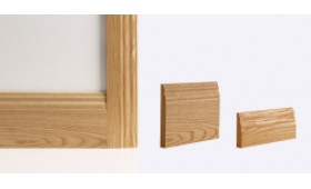Traditional Architrave 80mm X 16mm (set Covers Both Sides Of The Door) Image