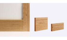 Shaker Architrave 80mm X 16mm (set Covers Both Sides Of The Door) Image