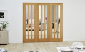 Aston Oak - 3 Door Frenchfold (3 X 2