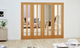 Aston Oak - 4 Door Frenchfold (4 X 2