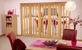 Aston Oak - 5 Door Roomfold (5 X 2