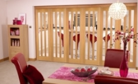 Aston Oak - 6 Door Roomfold (5+1 X 2