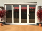 Classic White Folding Doors - Climadoor Image