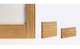 Georgian Door Lining 133mm X 30mm (removable Stop Included) Image