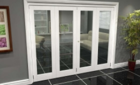 White P10 Roomfold Grande (2 + 2 X 610mm Doors) Image