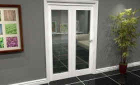 White P10 Roomfold Grande (2 + 0 X 610mm Doors) Image