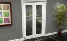White P10 Roomfold Grande (2 + 0 X 573mm Doors) Image