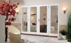 LPD Nuvu 2100mm (7ft) - 1500mm Patio Doors + 2 X 300mm Sidelights  Image
