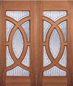 Majestic Hardwood Grand Entrance Doors Image