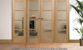 Oak Oslo Prefinished Room Divider Range Image