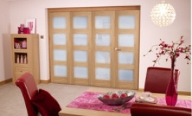 Oak Prefinished 4l Interior Bifold Door (4 X 1