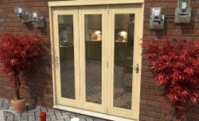 Tradesmen External Folding Patio Doors - Climadoor Image