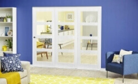 White 4l Roomfold Deluxe (1800mm Set) Image