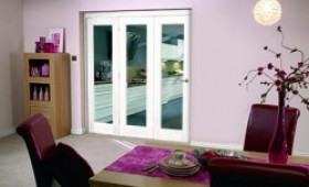 White Bifold 3 Door System (3 X 2