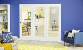 White P10 Roomfold Deluxe ( 3 X 610mm Doors ) Image