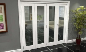 White P10 Roomfold Grande (3 + 1 X 533mm Doors) Image