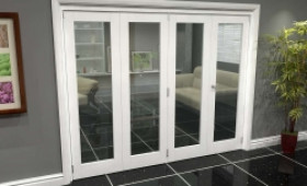 White P10 Roomfold Grande (3 + 1 X 610mm Doors) Image