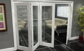 White P10 Roomfold Grande (3 + 1 X 686mm Doors) Image