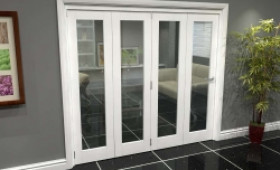 White P10 Roomfold Grande (4 + 0 X 533mm Doors) Image