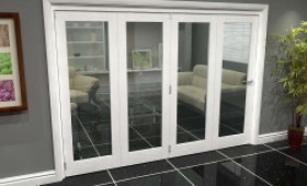 White P10 Roomfold Grande (4 + 0 X 686mm Doors) Image