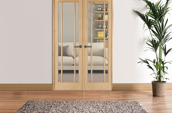 W4 Lincoln Oak Internal Room Divider