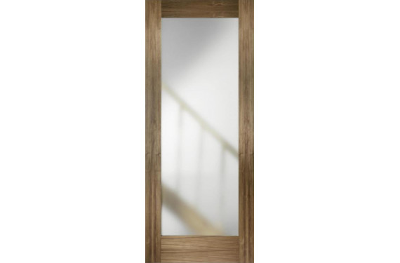 Walnut Porto Glazed Door