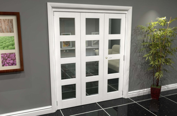 White 4l Roomfold Grande (2 + 1 X 533mm Doors)