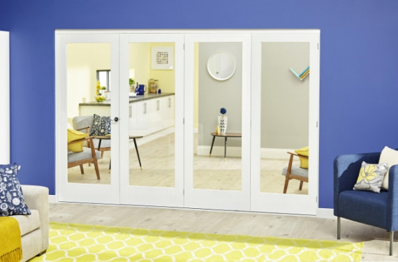 White P10 Roomfold Deluxe ( 4 X 610mm Doors )