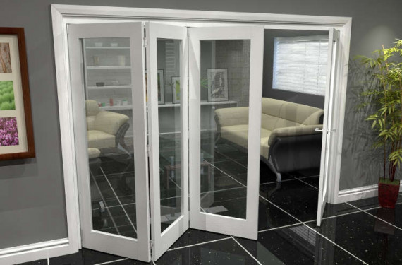 White P10 Roomfold Grande (3 + 1 X 686mm Doors)